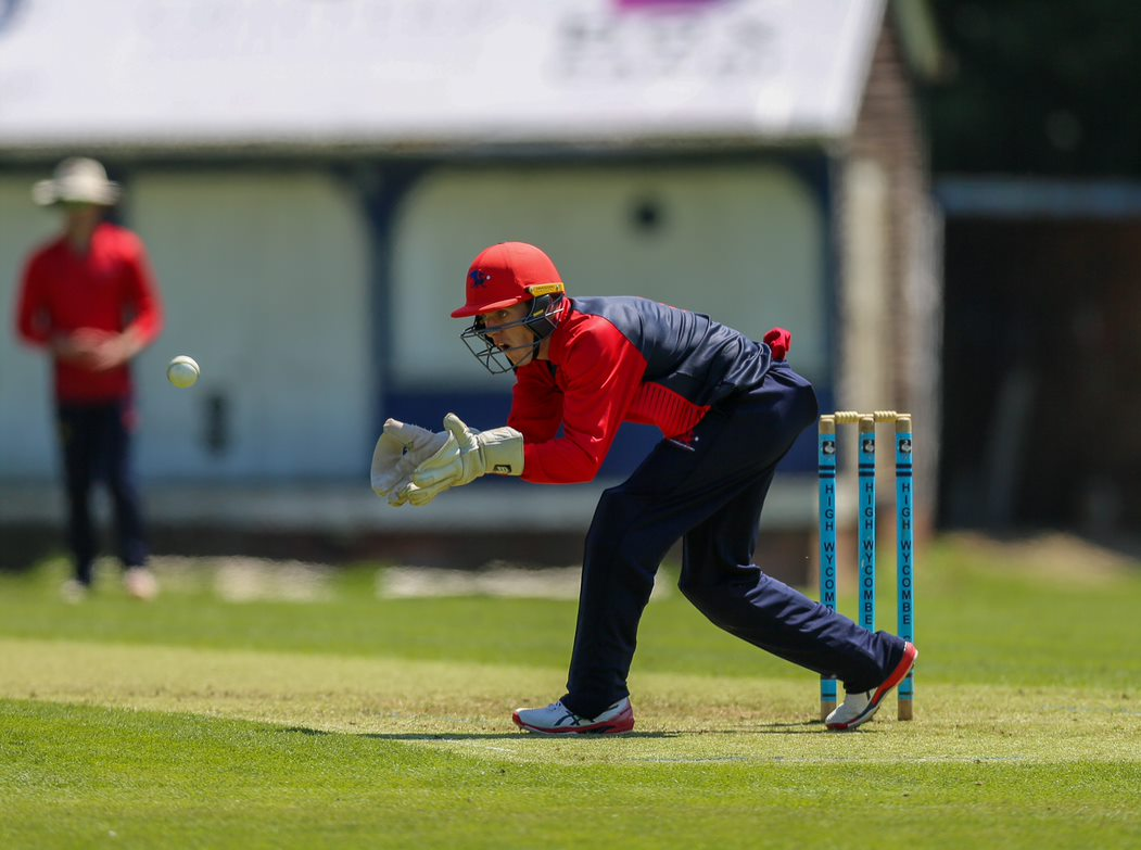 Cameron Herring produced a fine keeping display including the key stumping of Alexi Kervezee