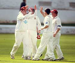 Senior Cricket - High Five!
